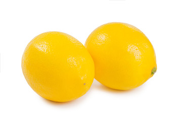 Healthy lemon fruits
