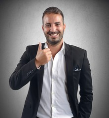 Businessman promotion