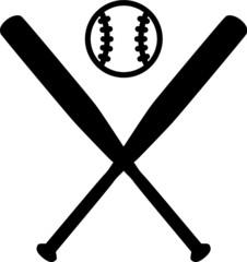 Baseball Bats with Ball