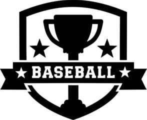 Baseball Emblem Cup