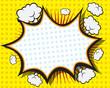 Comic Book Speech Bubble - 77029236