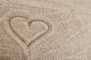 Picture on Sea sand background