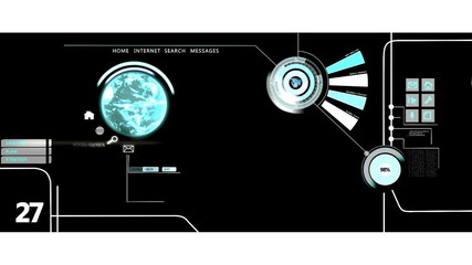 CG video montage business graphics analysis data layout motion