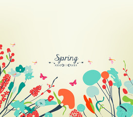 Blossom Into Spring vintage 2