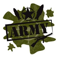 Army military design vector illustration
