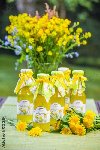 Löwenzahn Blüten Sirup - 77030839