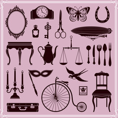 Design Elements — Vintage Objects and Icons Set 2