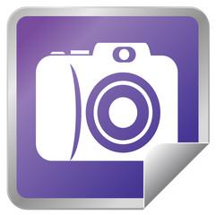 Camera sticker icon