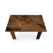 3d wooden table  illustration