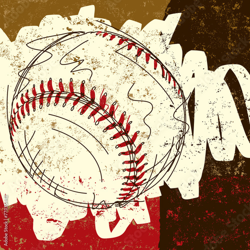 Baseball background - 77035442
