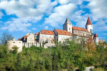 medieval royal gothic castle Krivoklat, Czech republic