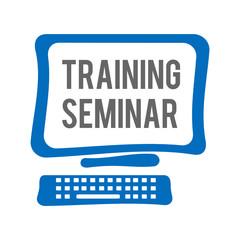 Training Seminar Computer Screen