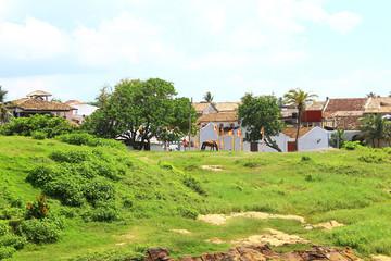 Территория внутри форта Галле