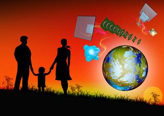 People and cosmic tehnologies future