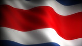 Flag of Costa Rica (seamless)