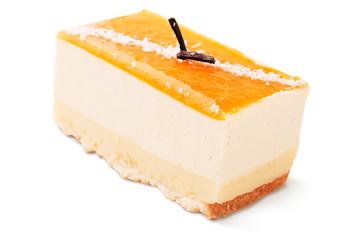 Delicious creamy cake