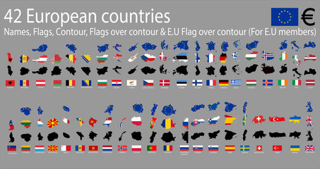 42 European countries