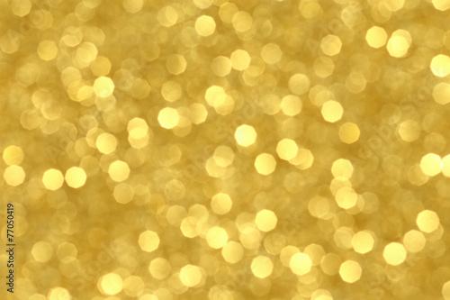 金色の素材 反射する光の模様