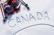 Canada ski background - 77051472