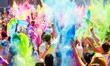 canvas print picture - holi berlin