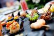 Obrazy na płótnie, fototapety, zdjęcia, fotoobrazy drukowane : Catering al aire libre. Eventos de comida y celebraciones