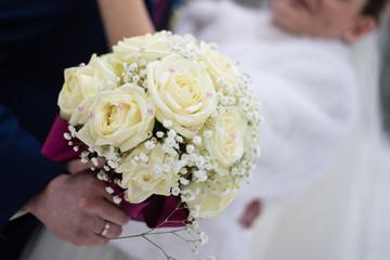 Wedding flowers bouquet