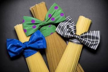 Spaghetti, pasta Italian style