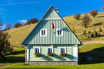 green cottage, Czech Republic