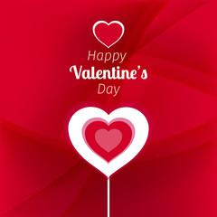 Vector illustration of a Valentine background