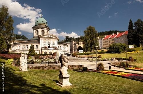 Ladek Zdroj is a town in Klodzko County, Lower Silesian, Poland - 77055840