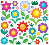 Flower theme collection 1
