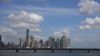 Panama City Central America View Of Skyline