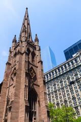 Trinity Church in Manhattan NYC New York USA