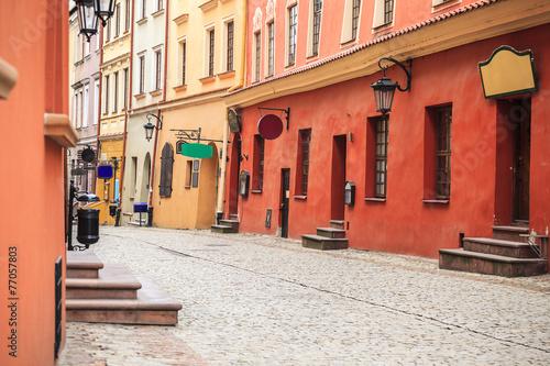 Zdjęcia na płótnie, fototapety na wymiar, obrazy na ścianę : Lublin city center, Poland