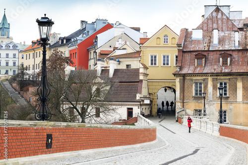 Fototapety, obrazy : Lublin city center, Poland