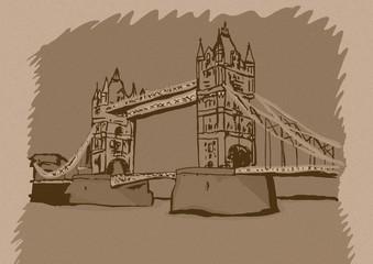London bridge vintage
