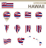 Hawaii Flag Collection - 77058442