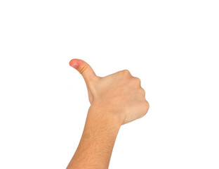 OK sign hand
