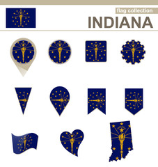 Indiana Flag Collection