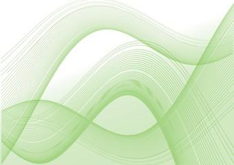 sinuoso verde