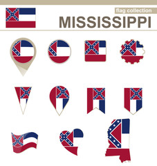 Mississippi Flag Collection