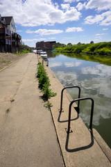 River Severn Tewksbury Gloucestershire UK