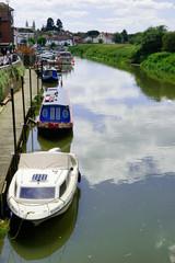 River Avon Tewksbury UK