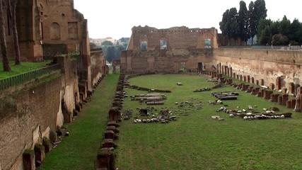 Stadium of Domitian on the Palatine Hill, Rome