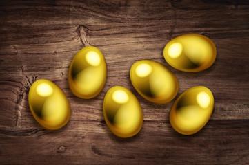 six golden eggs