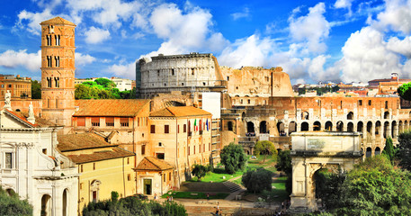 beautiful antique Rome