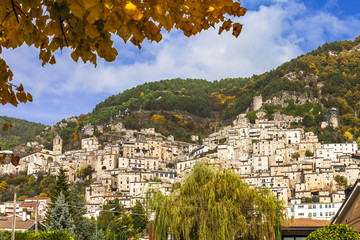medieval villages of Italy series - Pesche