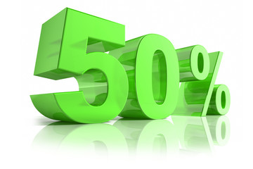 50% Grün