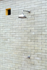Outdoor shower head