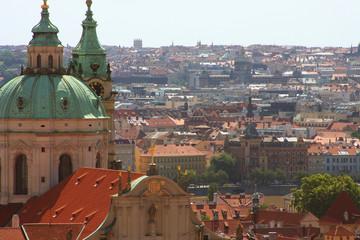 Panorama of Charles bridge, Prague